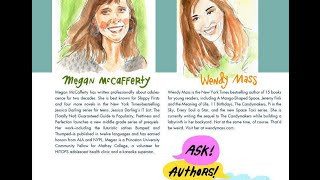 Ask! Authors! Anything! SPECIAL EDITION: Wendy Mass interviews Megan McCafferty