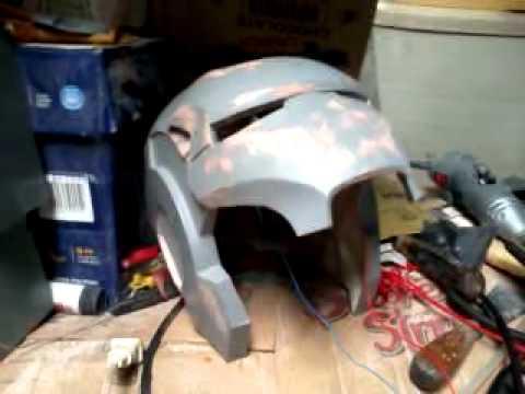 Ironman/Warmachine Motorized faceplate pRoJectEarth7