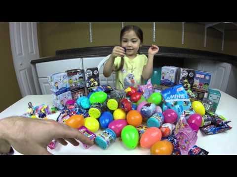 Surprise Egg Disney Frozen- 100 SURPRISE TOYS WORLDS BIGGEST Surprise Egg Opening! Disney Frozen
