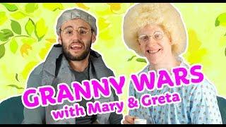 GRANNY WARS #1 - MED MARY & GRETA