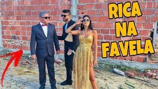 FINGI SER RICA NA FAVELA COM 2 SEGURANÇAS!!!