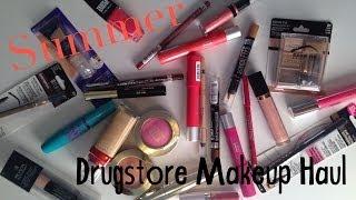 Summer Drugstore Makeup Haul Thumbnail