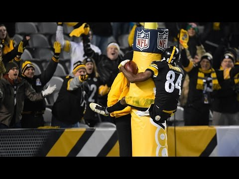 Antonio Brown  Black & Yellow  201516 Highlights
