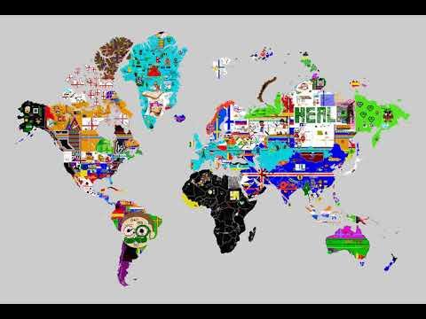 Nov 27, 2019 - Pixels World War - 24 Hours Timelapse