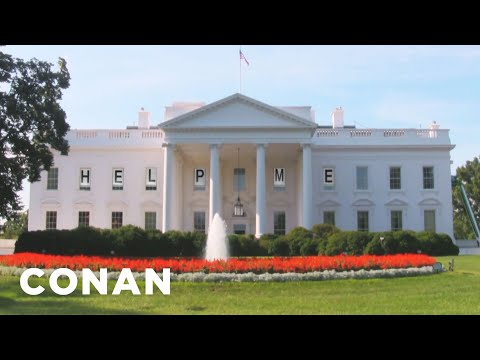 Melania Trump Is Redecorating The White House  - CONAN on TBS