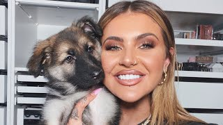 MEET OUR GERMAN SHEPHERD PUPPY | JAMIE GENEVIEVE