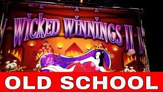 Wicked Winnings 2-Old School  - Redtint Loves Slots