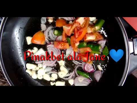 Cooking Filipino Cuisine | Pinakbet | JANE DURANGO