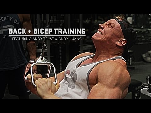 Back & Bicep Training | Andy Trust & Andy Huang | Iron Rebel
