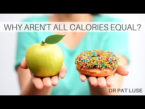 Are All Calories Equal? NEW STUDIES ON THE DIFFERENCES | Dr Pat Luse | 7 Systems Plan