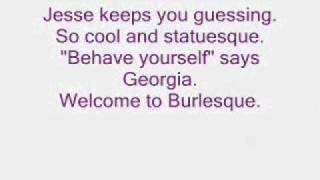 Cher - Welcome To Burlesque (Lyrics)