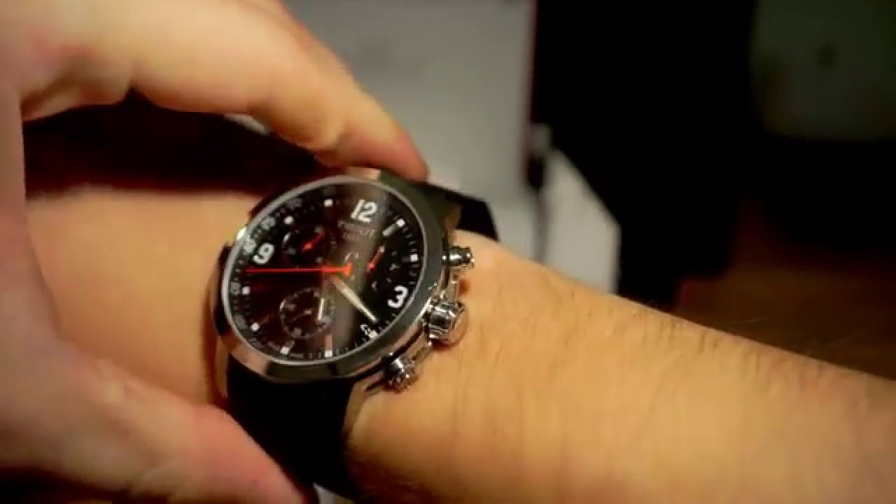 ec6a4e90ee6 Tissot PRC 200 Chronograph Review Unboxing - YouTube