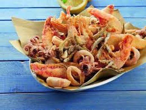 Ricetta Veloce Frittura Di Pesce Croccantequick Recipe Fried Crispy