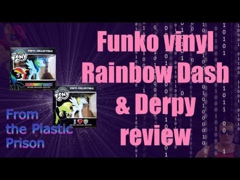 Funko My Little Pony Vinyl Figures Rainbow Dash & Derpy Review