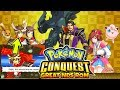 Pokemon Conquest NDS Rom With 3D Graphics,Pokemon Link With Trainers,3D Battles,New Region,New Story