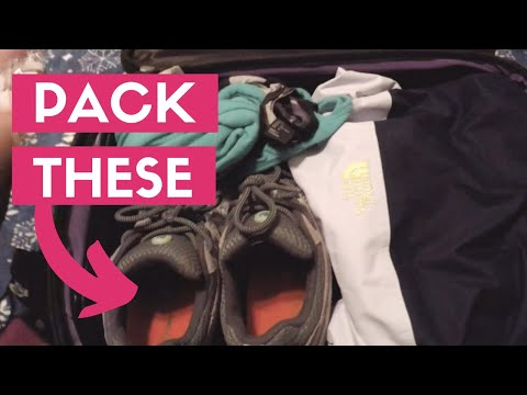 What I Packed For An Alaskan Crusie Vacation | Pack With Me | Alaska Cruise Packing Tips