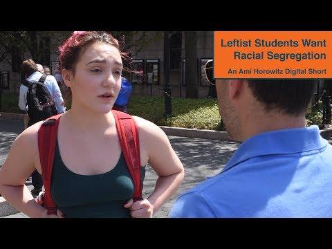 Leftist Students Support Segregation