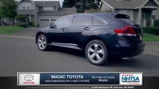 2015 Toyota Venza Review | Magic Toyota - Toyota Dealer in Edmonds, WA