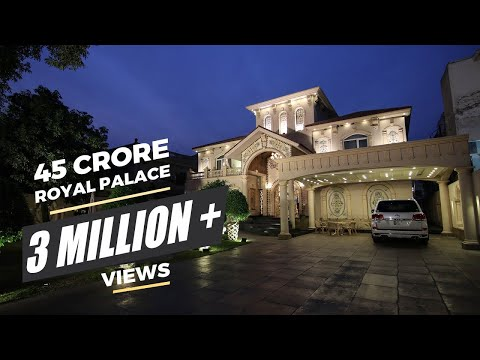 Royal Palace For Sale In Model Town Lahore L  Price: 45 Crore