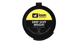 Loon Deep Soft Weight Fly Fishing Tungsten Putty