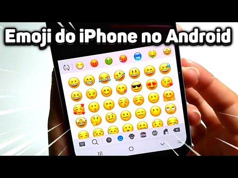 COMO TER FONTE EMOJI DO IPHONE NO ANDROID [IOS 13] Atualizado