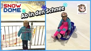 WIR GEHEN SCHLITTEN FAHREN ❄️ Rodeln im Snow Dome ❄️ Follow us around im Schnee ❄️ Ab auf die Piste