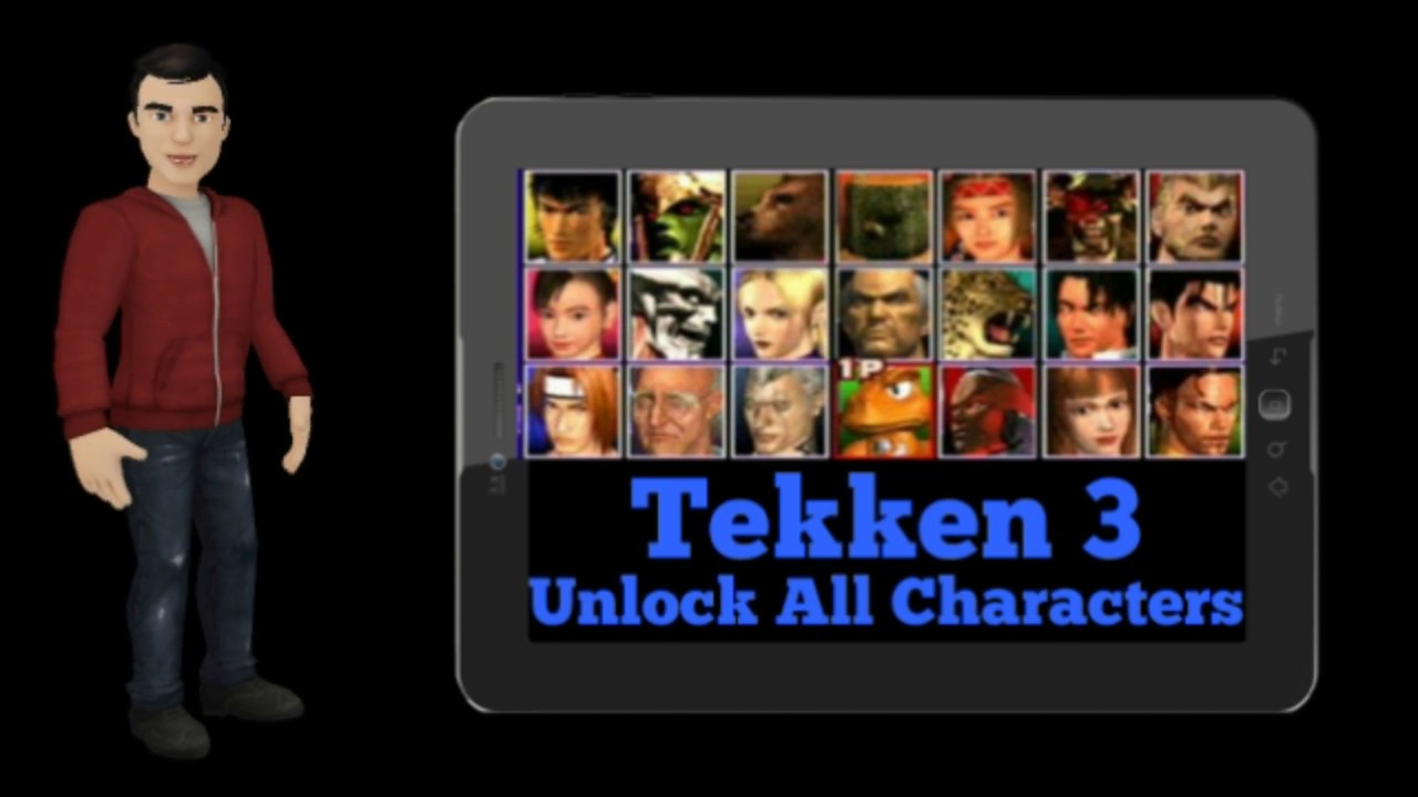 How To Enable All Players In Tekken 3 Game On Your Android Device Youtube