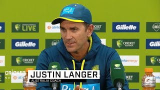 Langer delighted by perfect start to men's international summer