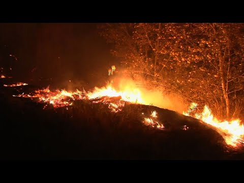 California Fire Forces Thousands to Evacuate