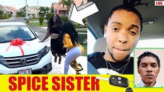 Why Shane O Diss Vybz Kartel HATTERR | Spice Buy Sister Car | Daddy1 Freestyle SlCK!