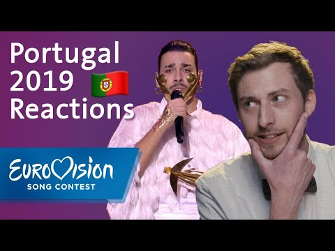 Conan Osiris Telemoveis Portugal Reactions Eurovision Song Contest