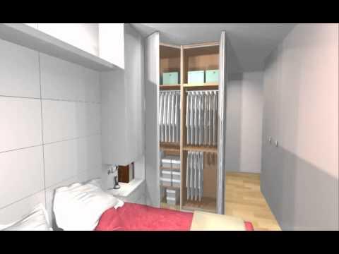 Dise o de dormitorio matrimonio totalmente personalizado - Dormitorio matrimonio diseno ...