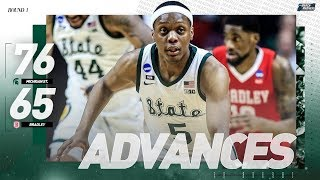 Watch michigan state escape the upset bid from bradley in first round of ncaa tournament.watch highlights, game recaps, and much more 2019 n...