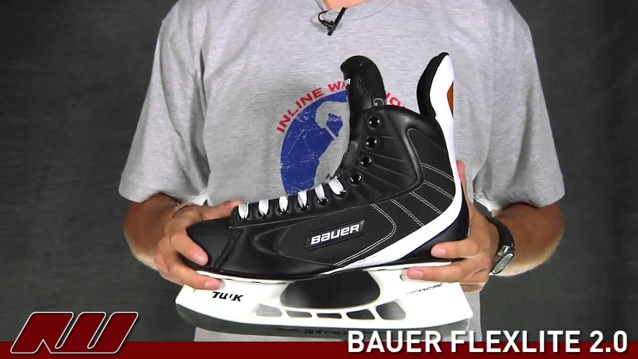 Bauer Flexlite 2.0 Hockey Skate. Ice Warehouse 635dc1c5d