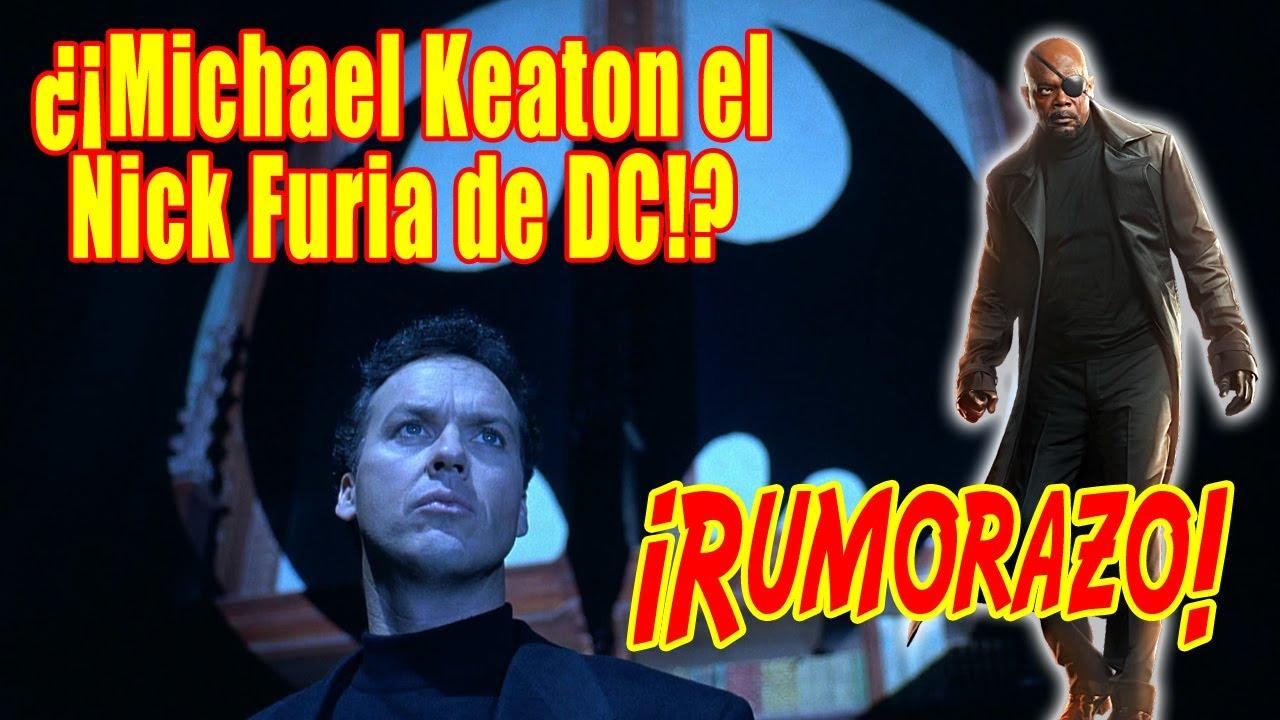 ¿El BATMAN de MICHAEL KEATON sería el NICK FURIA de DC? Nuevo rumor sobre su fichaje.