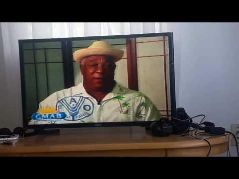 en la television de Antigua