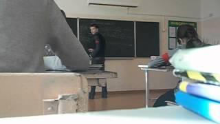 Урок русского языка в 6 классе :)