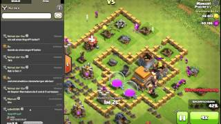 Pokijagt /clanvorbereitung ! || CLASH OF CLANS || Let's Play CoC [Deutsch/German HD Android iOS PC]