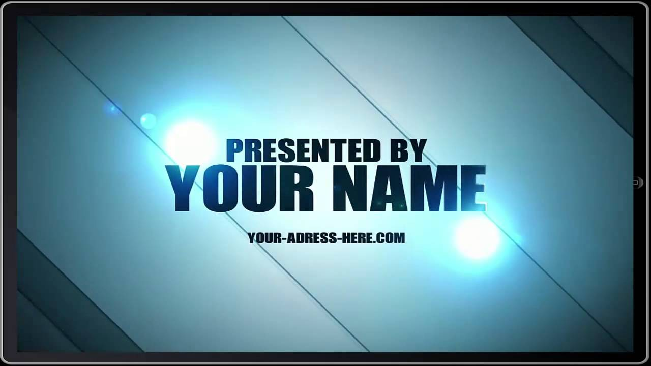 TOP After Effects Intro Templates Free Download Part YouTube - Editable after effects templates