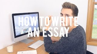 HOW TO WRITE AN ESSAY Thumbnail
