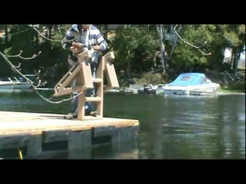 Easy-Out Dock Ladder
