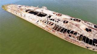 SS Selma - Seawolf Park, Galveston Texas - 1080P