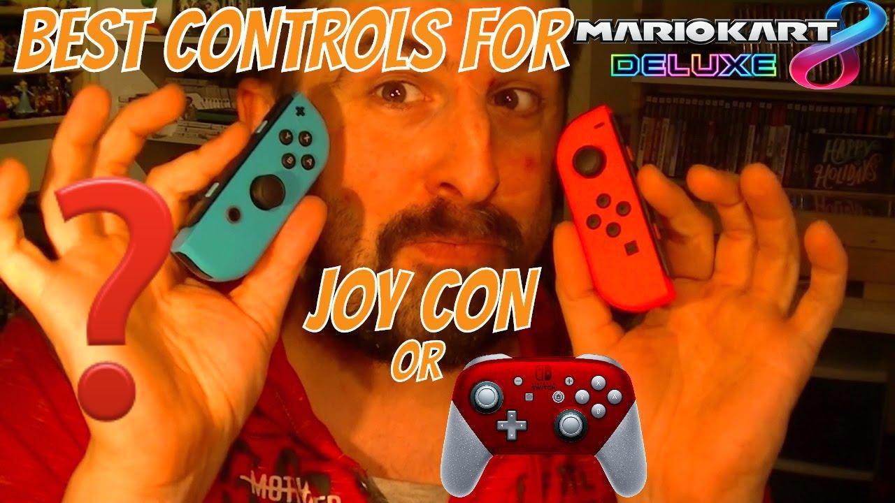 Best Controls For Mariokart 8 Deluxe Joy Con Or Pro