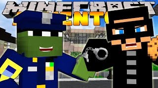 Minecraft Adventure - TINY TURTLE BECOMES A POLICE OFFICER!