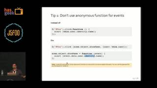 Anirudh Sanjeev - Understand, find, prevent and fix memory leaks in JavaScript