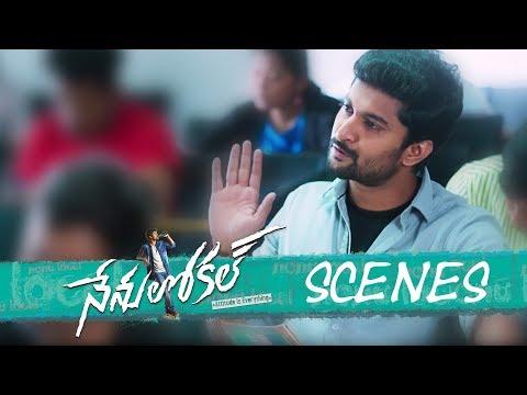 Nenu Local Movie - College Exam Comedy Scene - Nani, Keerthy Suresh