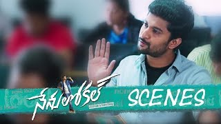 Nenu Local Movie - College Exam Comedy Scene - Nani, Keerthy Suresh