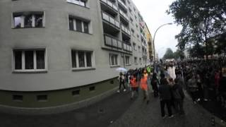 Zug der liebe, Berlin 2017 - 360 Video