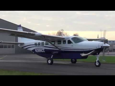 The brandnew Cessna 208B Grand Caravan EX at Teuge Airport