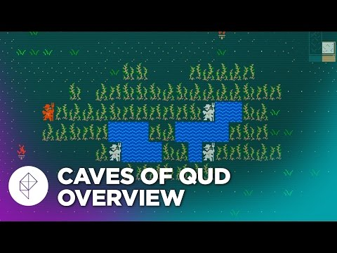 Join us in the Caves of Qud, and meet our friend the man-camel
